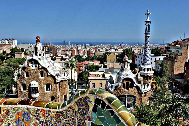 Itinerario a Barcellona con i bambini a Parc Güell