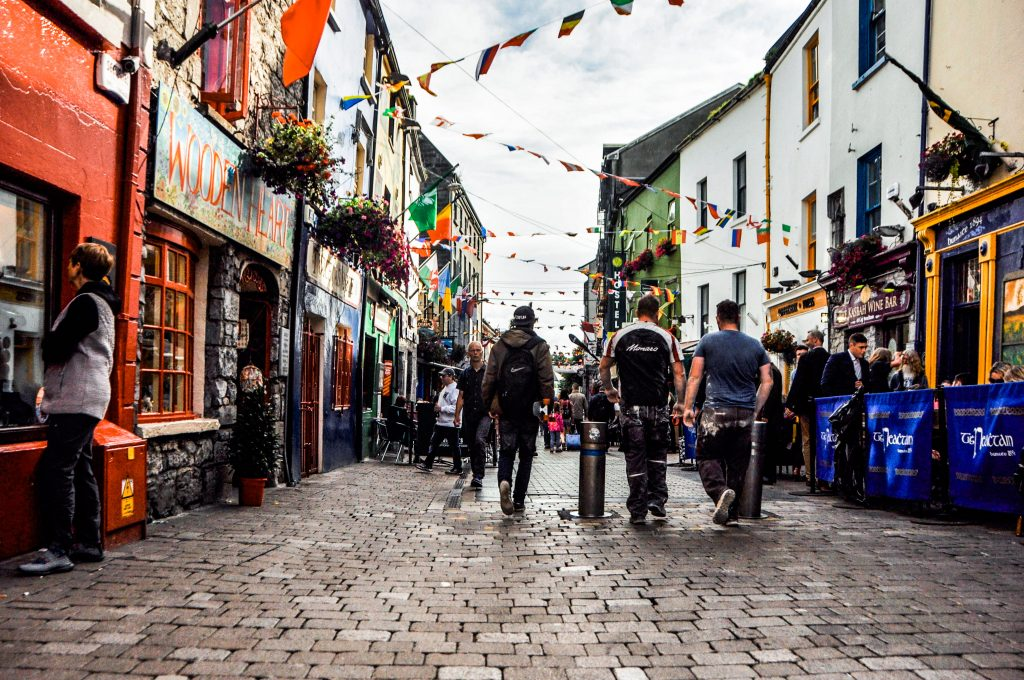Itinerario in Irlanda a Galway