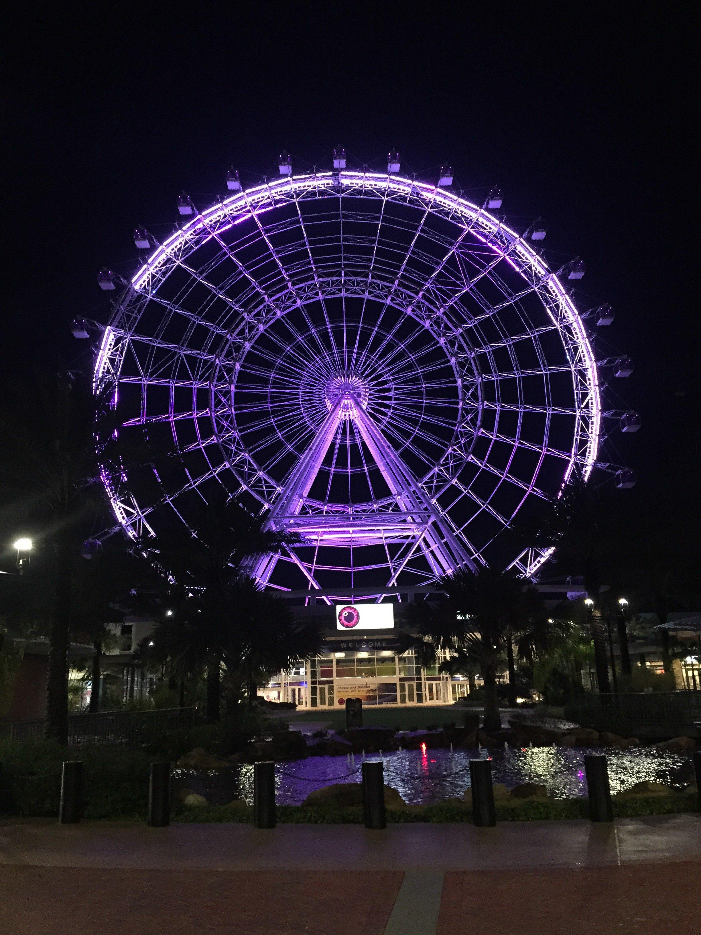 Cosa vedere a Orlando, ruota panoramica