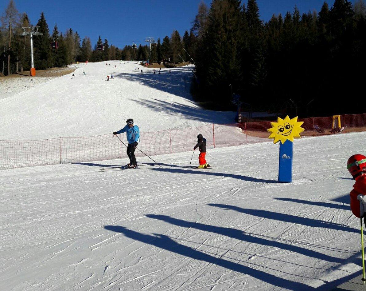 Dove Sciare con i bambini in trentino