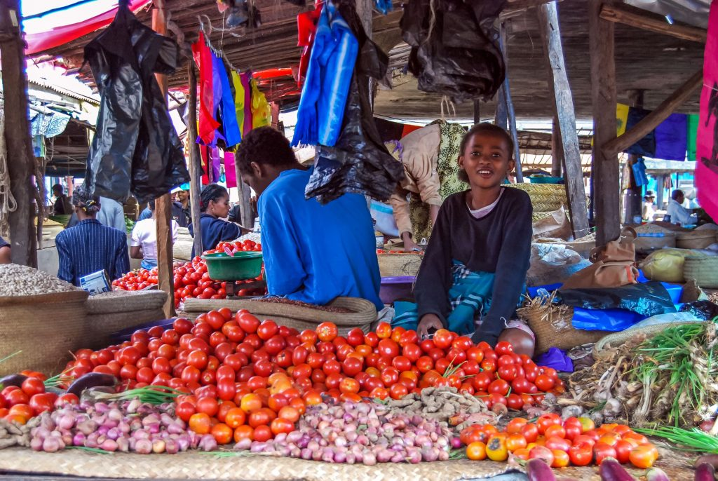 Mercato in Madagascar