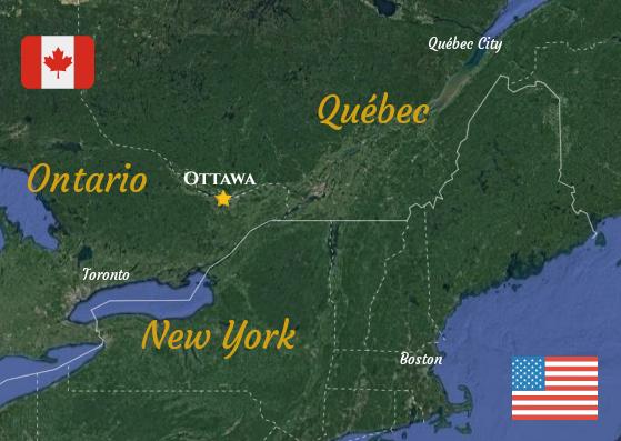 Ottawa dove si trova