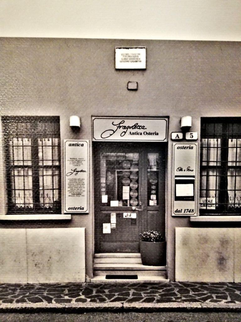 Trattoria mantovana La Fragoletta foto d' epoca