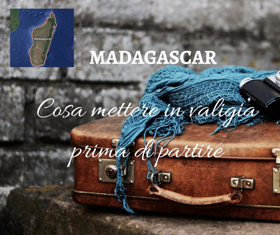 Valigia per il Madagascar