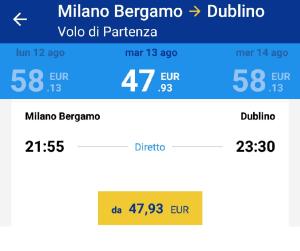 Irlanda quanto costa un viaggio