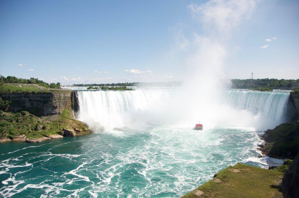Cascate del Niagara dove andare in vacanza in estate