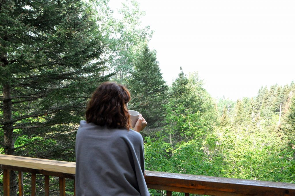 Digital detox colazione foresta