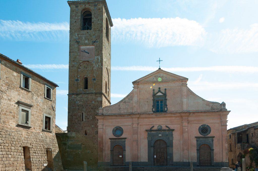 tuscia viterbese chiesa di civita
