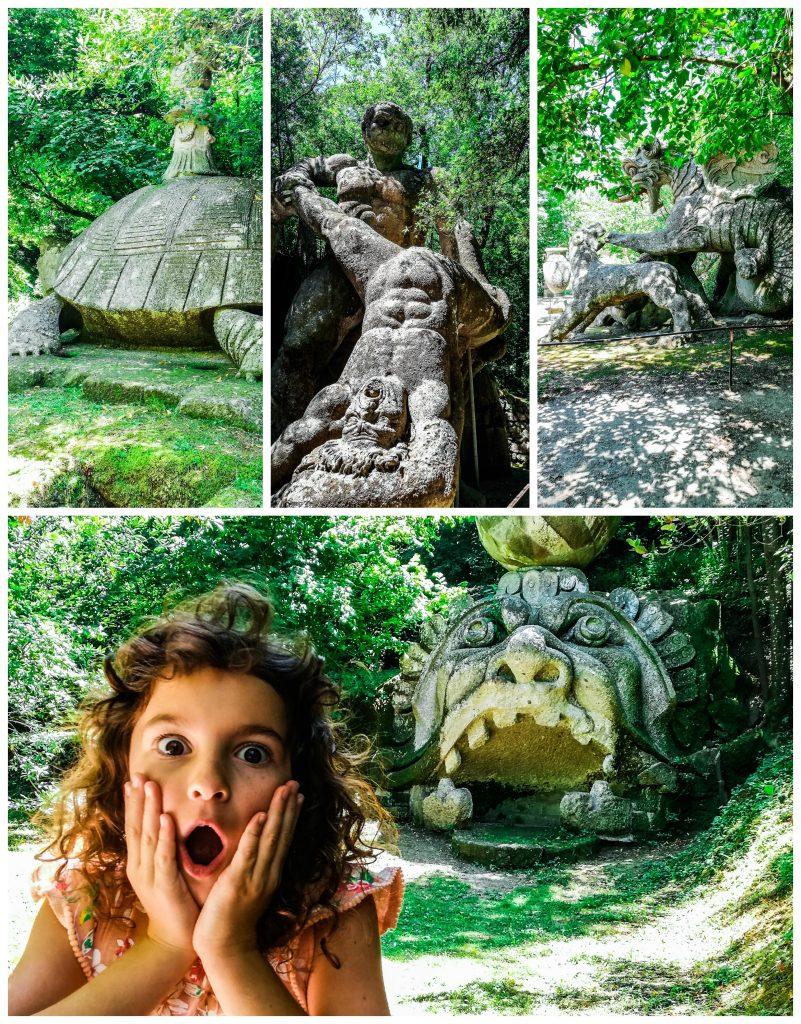 Parco dei mostri visitare