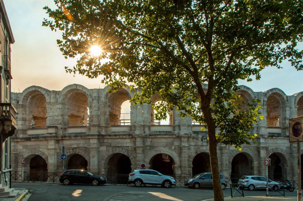 Cosa vedere in Camargue, arena di Arles