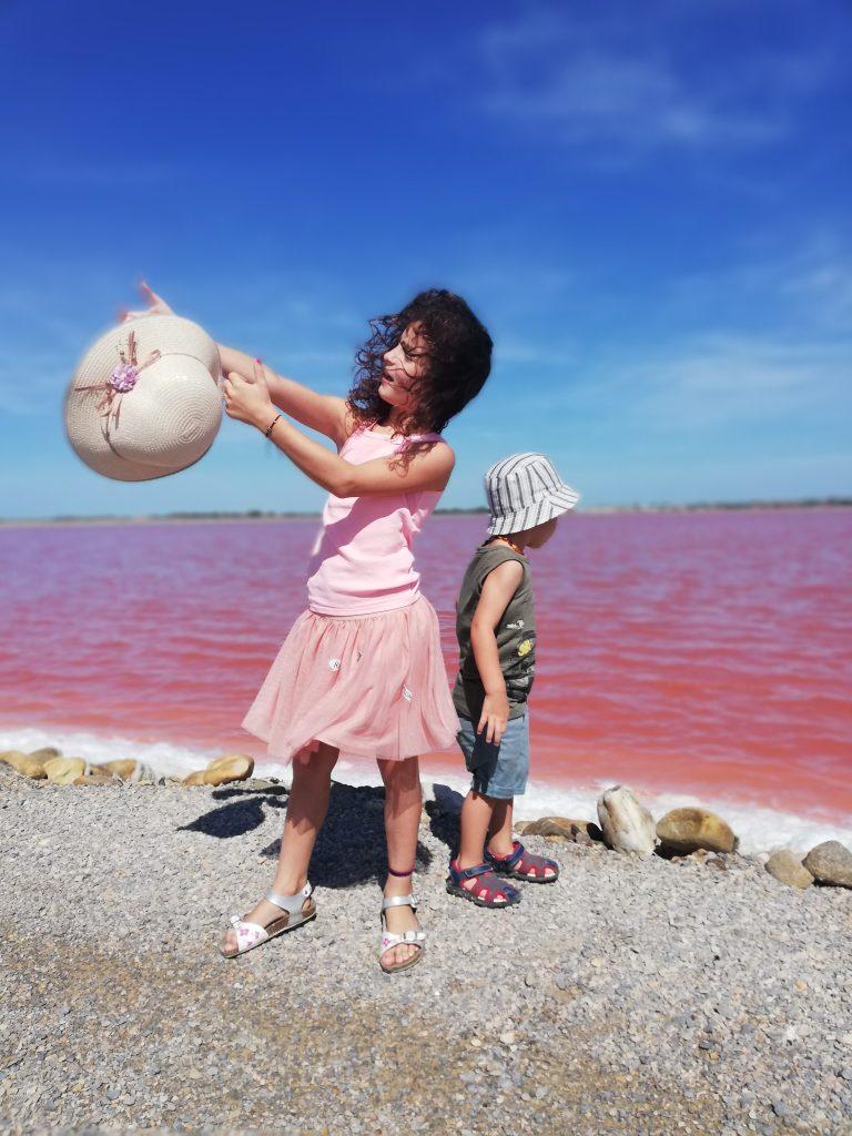 Salin-de-giraud acqua rosa