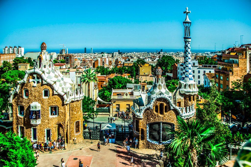 Parc Güell da vedere a Barcellona