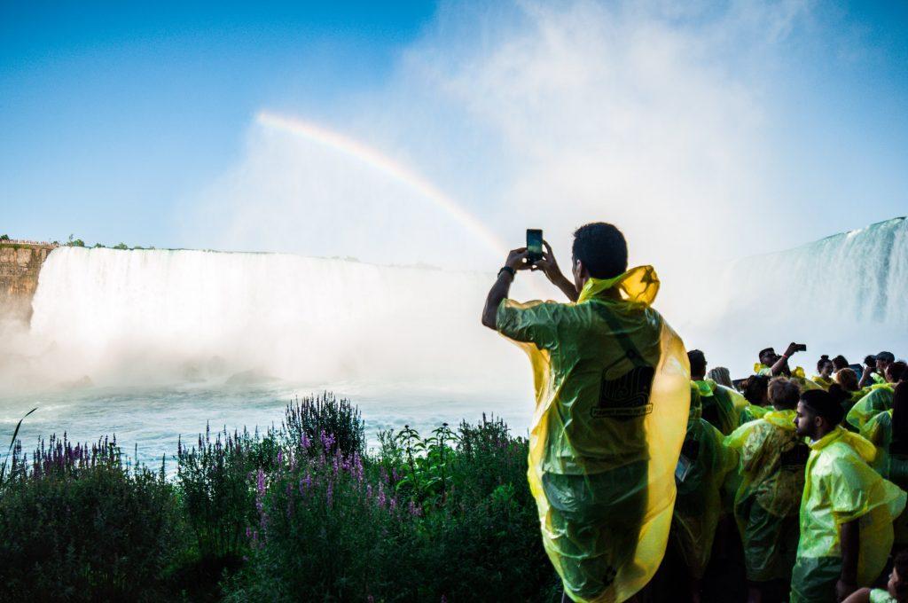 Visitare le cascate del Niagara dall'Obserbation deck