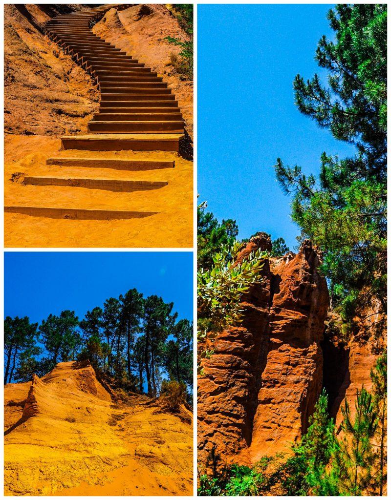 Roussillon sentiero delle ocre