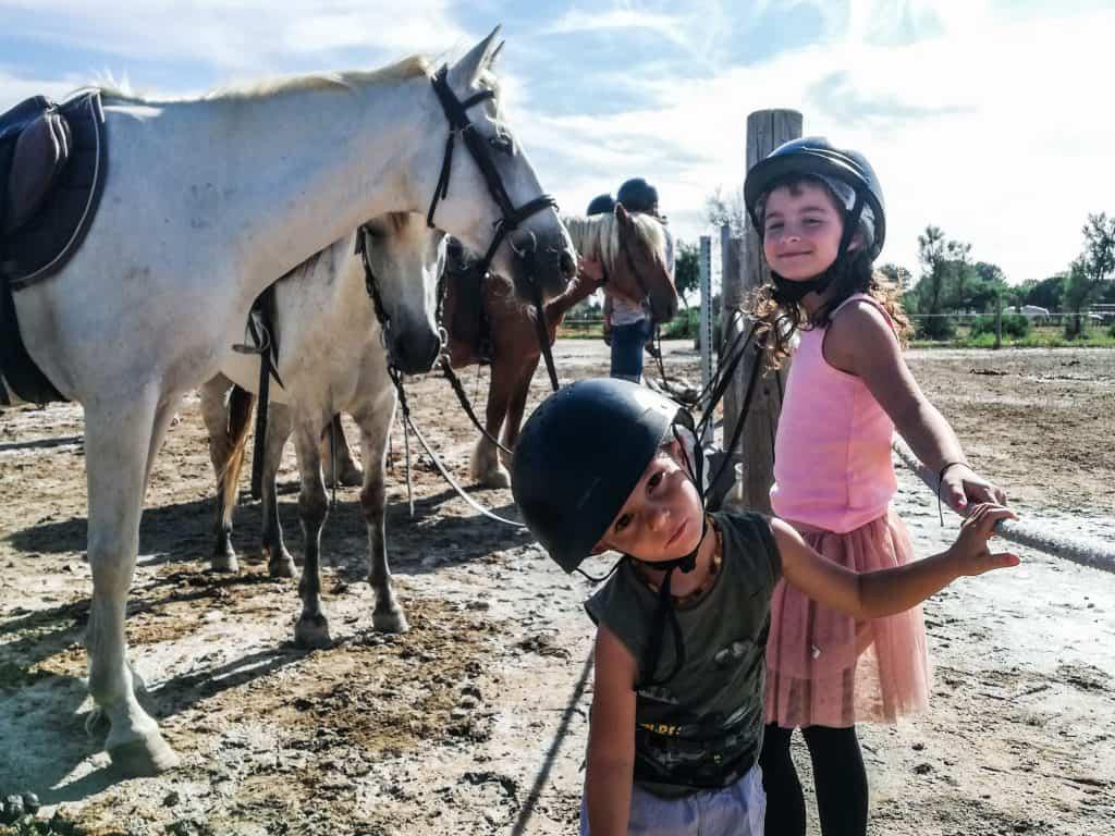 Camargue a cavallo per bambini