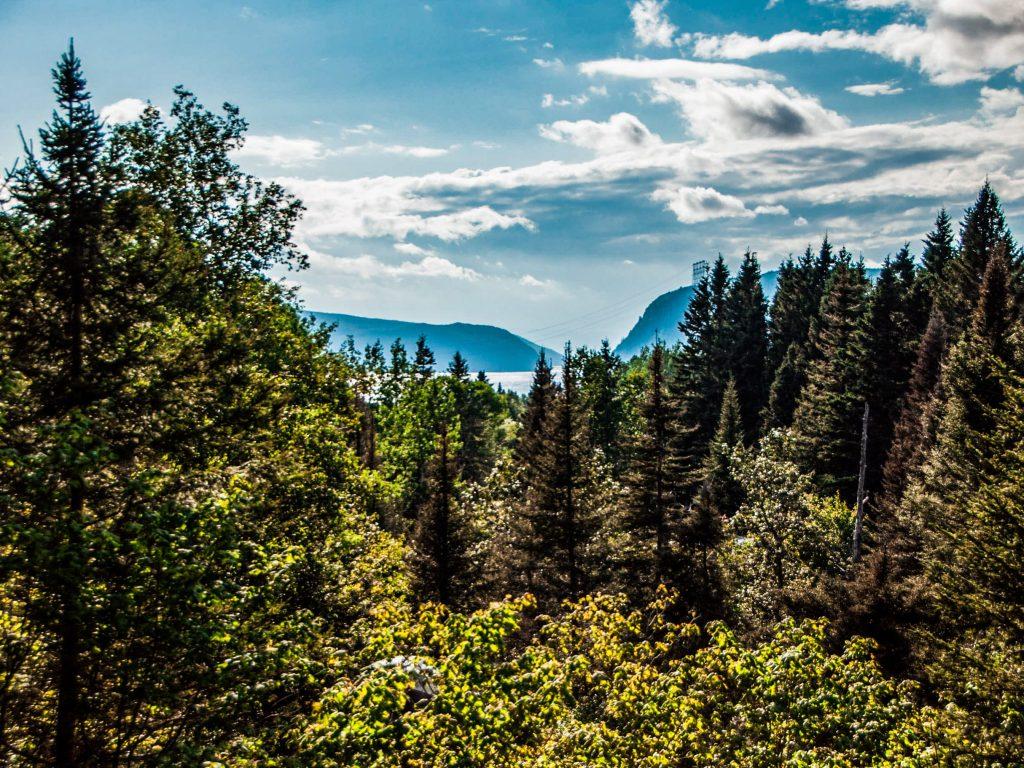 Canada Orientale paesaggio