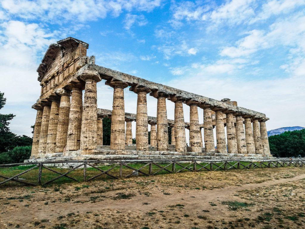 Templi Paestum, Atena