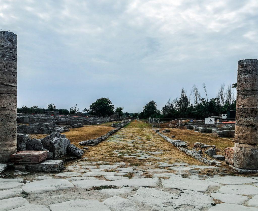 Scavi archeologici Paestum