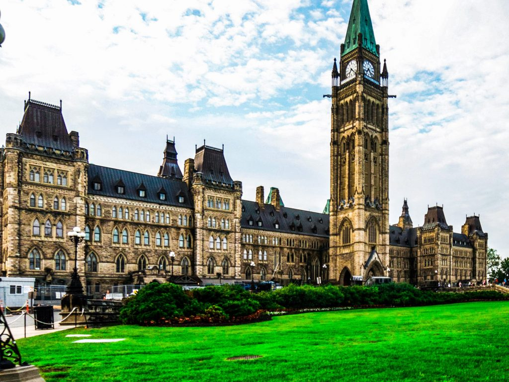 Cosa vedere a Ottawa Parliament hill