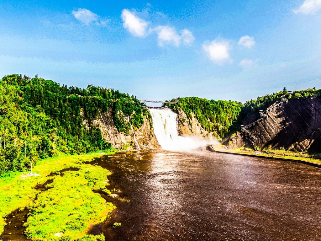 Cascate Montmorency canada