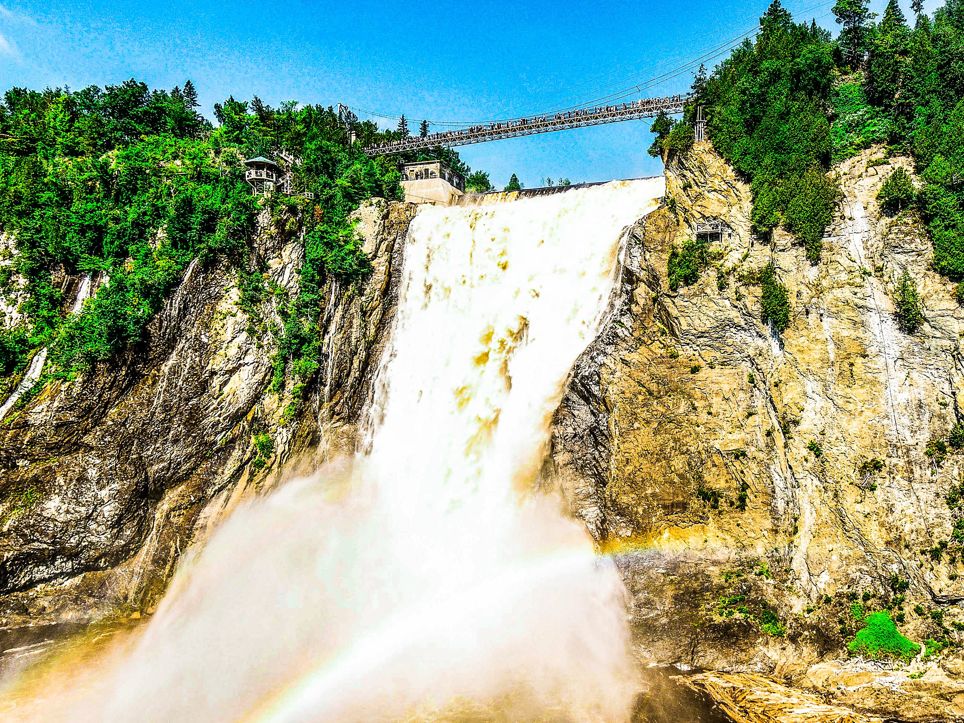 CASCATE MONTMORENCY, SPETTACOLO IN QUÉBEC