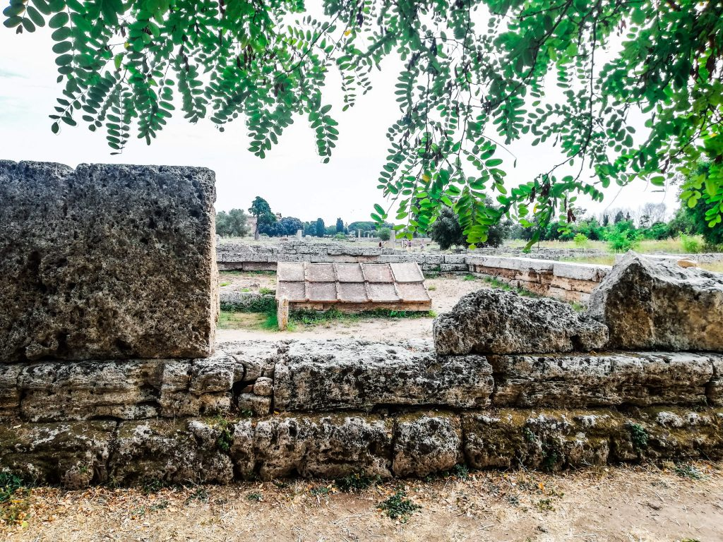 Cosa visitare a Paestum, cenotaffio