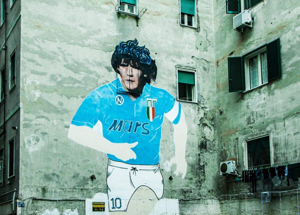 Murales Maradona quartieri spagnoli