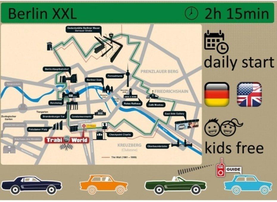 Trabant tour berlino