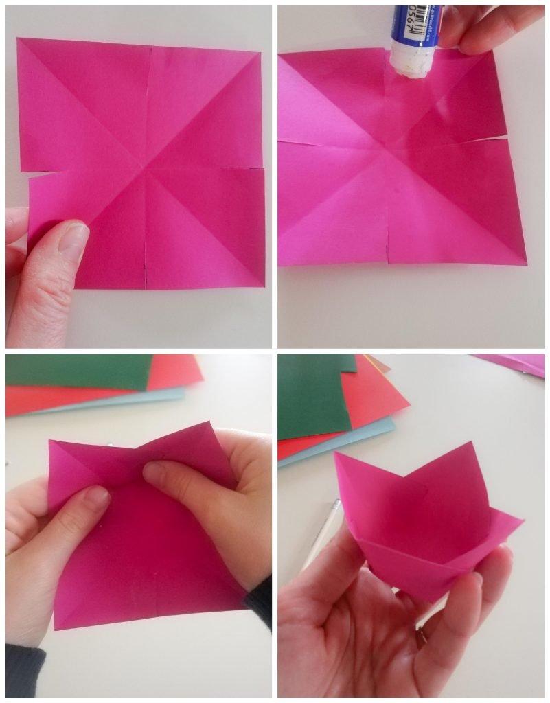 Corolla tulipano di carta