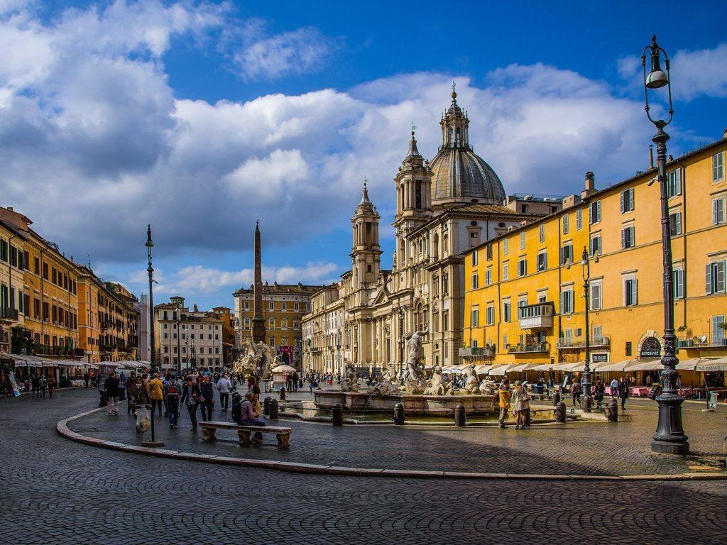Un giorno à Roma con i bambini
