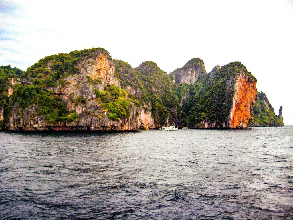 Arrivare a Phi Phi island
