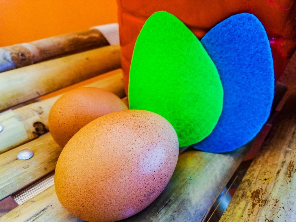 Caccia alle uova Pasqua