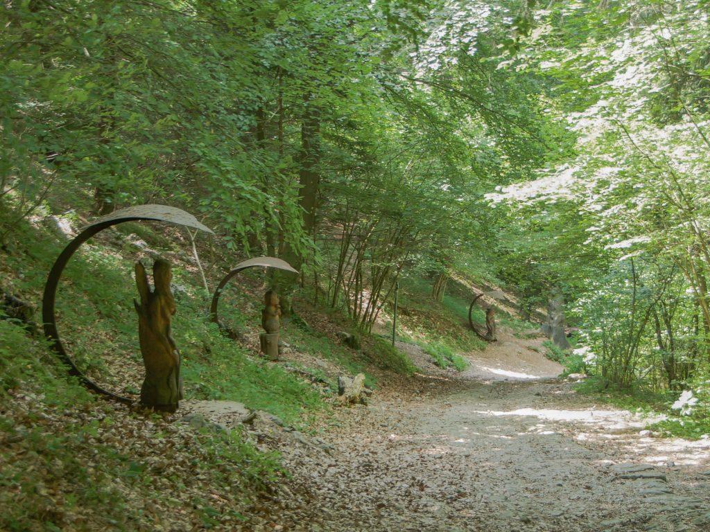 sentiero del bosco degli gnomi